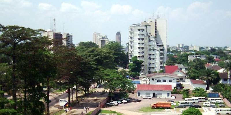 Photo du Boulevard du 30 juin à Kinshasa en République Démocratique du Congo