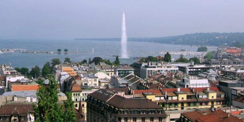 Vue de Genève