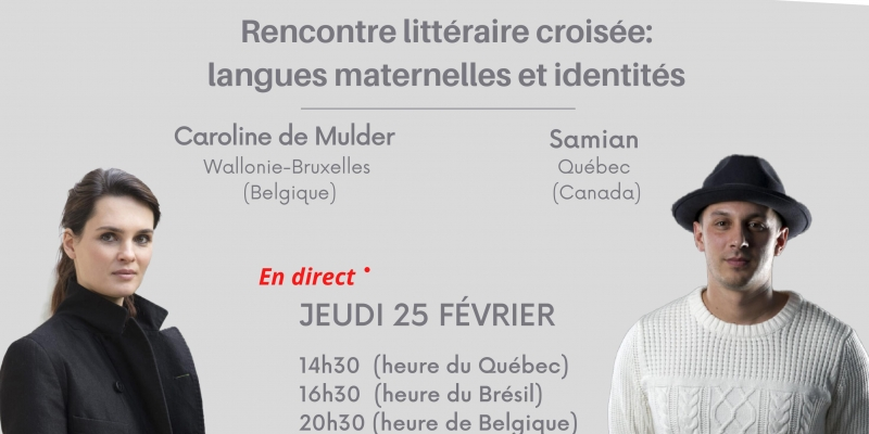Rencontre littéraire croisée : langues maternelles et identités