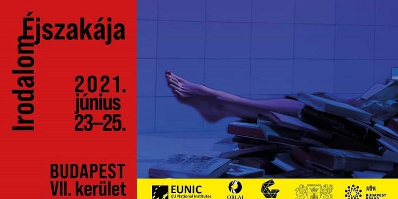 La nuit de la littérature à Budapest