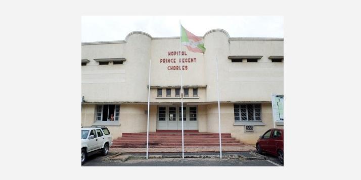 Vue de la façade de LHPRC à Bujumbura (C) APEFE