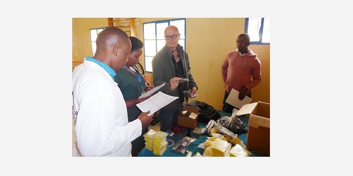 Kibimba ) Réception équipements (C) APEFE