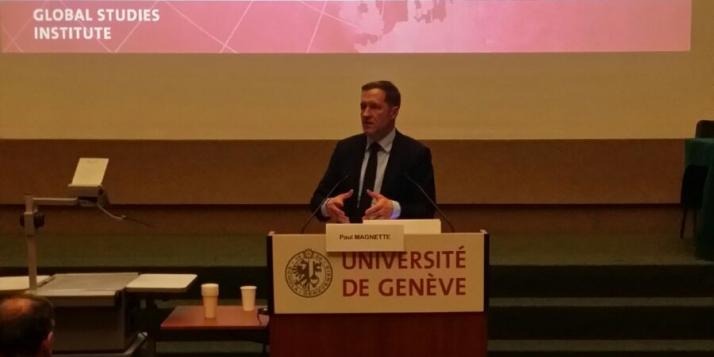 Intervention du Ministre-Président de la Wallonie, Paul Magnette, lors de la table ronde