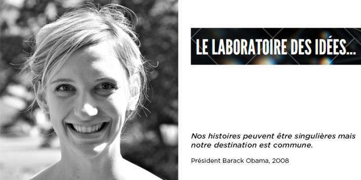 Catherine Xhardez, chercheuse post-doctorante à l'Université de Concordia à Montréal