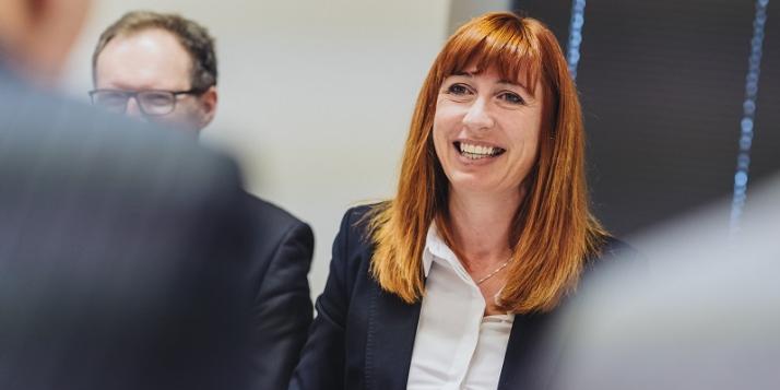 Mme Pascale Delcomminette, Administratrice générale de WBI (c) J. Van Belle - WBI
