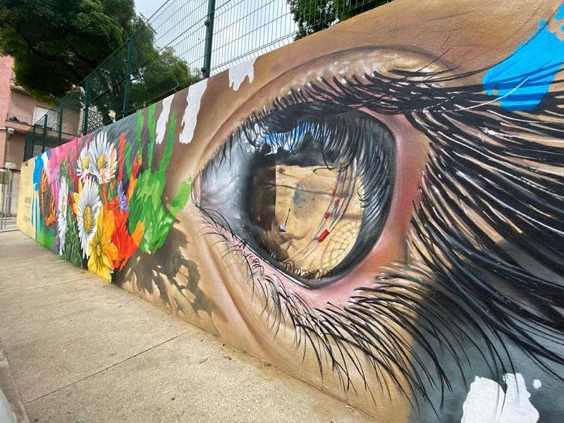 Mur de la francophonie-Lisbonne(c) IFPortugal