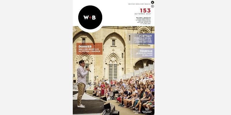 Olivier Py, Directeur sortant du Festival d'Avignon, dans la Cour du Palais des Papes © Christophe Raynaud de Lage / Polygraph