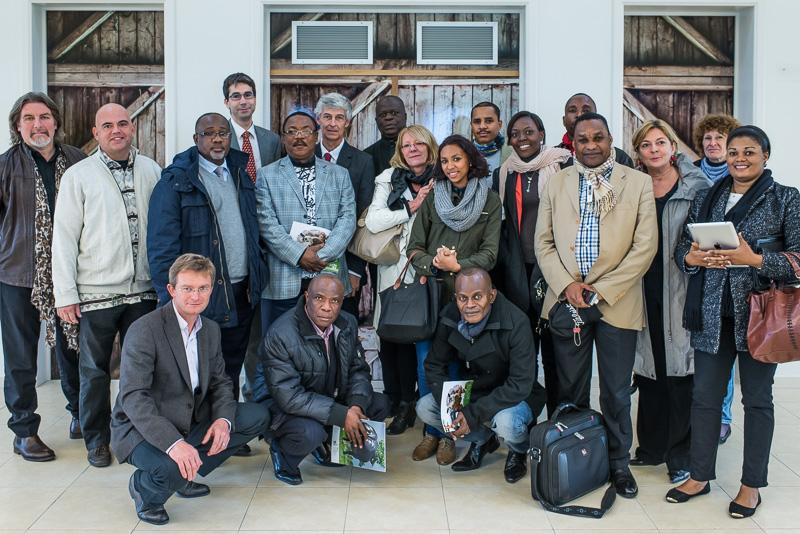 La délégation congolaise à Bruxelles (c) J. Van Belle - WBI