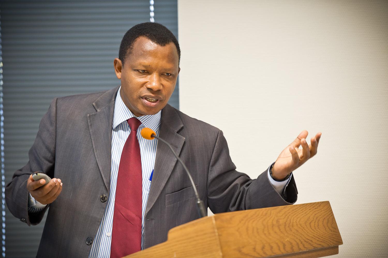 Léonidas Ndayisaba, Directeur de la Chaire Unesco/Cerfopax,  Université du Burundi