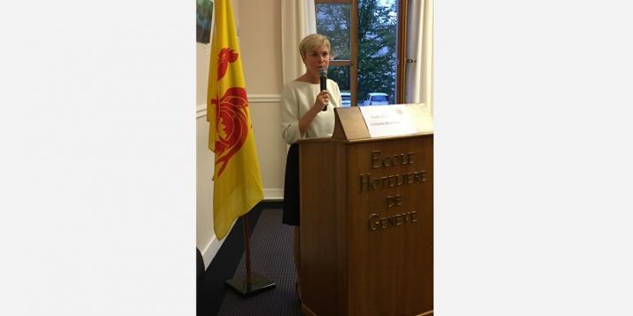 Fabienne Reuter, Déléguée générale Wallonie-Bruxelles à Genève