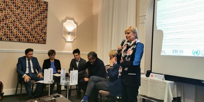 Fabienne Reuter, Déléguée générale Wallonie-Bruxelles à Genève (c) DGWBGenève