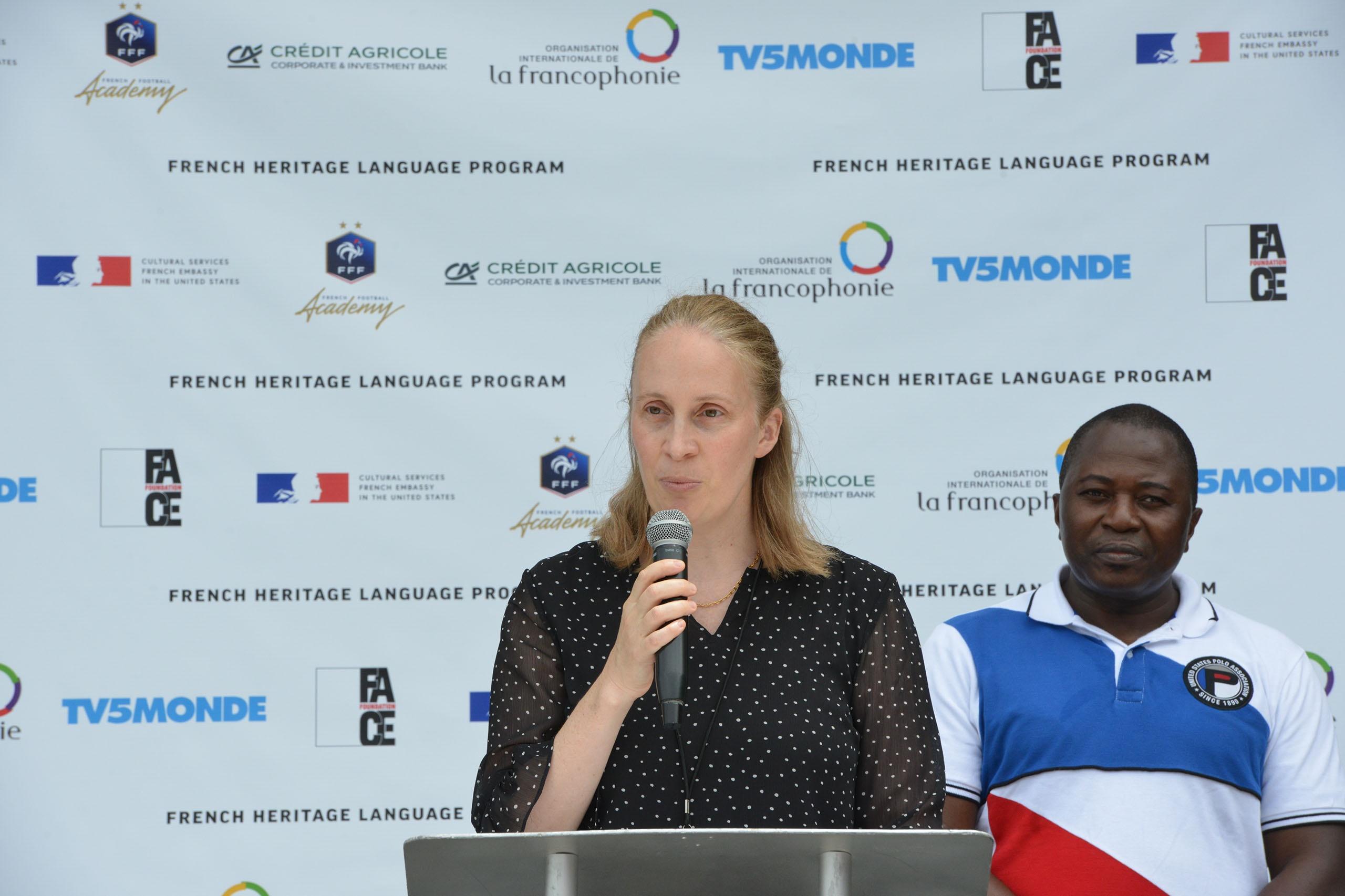 Patricia Herdt, Chargée d'Affaires auprès de la Représentation Permanente de l'OIF auprès des Nations Unies