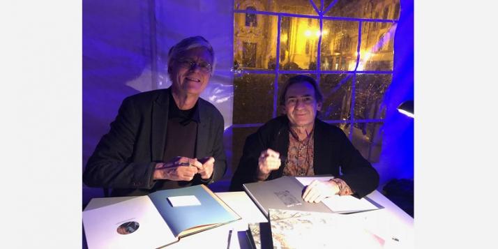 François Schuiten et Benoît Peeters