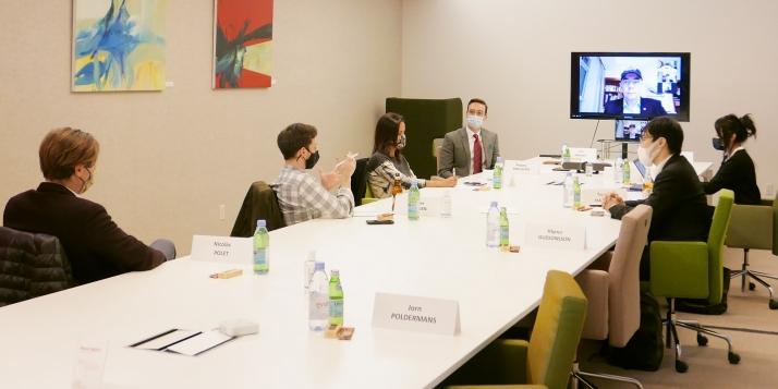 WBI fonde le Cercle Diplomatique pour la Science et la Technologie de New York