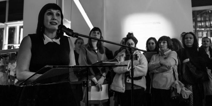 Stéphanie Pécourt, Directrice du Centre Wallonie-Bruxelles de Paris et fondatrice de la Biennale Nova_XX (c) J. Van Belle - WBI