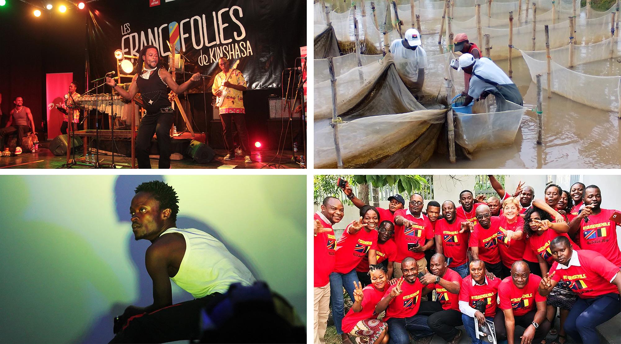 Wallonie-Bruxelles dans le monde - République Démocratique du Congo (RDC)