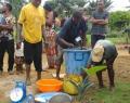 Journée du poisson - Vente au bord de l'étang