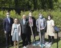 Maxime Woitrin, Délégué général adjoint Wallonie-Bruxelles auprès de l'OCDE, Régine Van Driesche, Représentante permanente de Belgique auprès de l'OCDE et Angel Gurria, Secrétaire général de l'OCDE