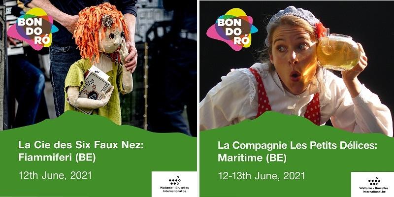 Cie des Six Faux Nez- Cie Les Petits Délices (c) Festival Bondoro