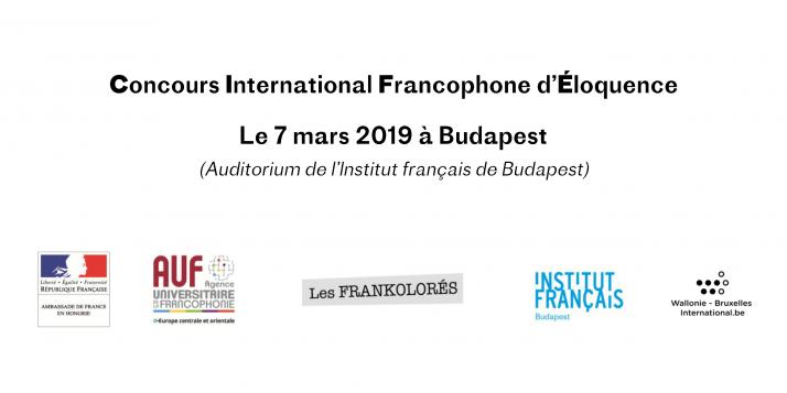 Concours International Francophone d'Éloquence 2019