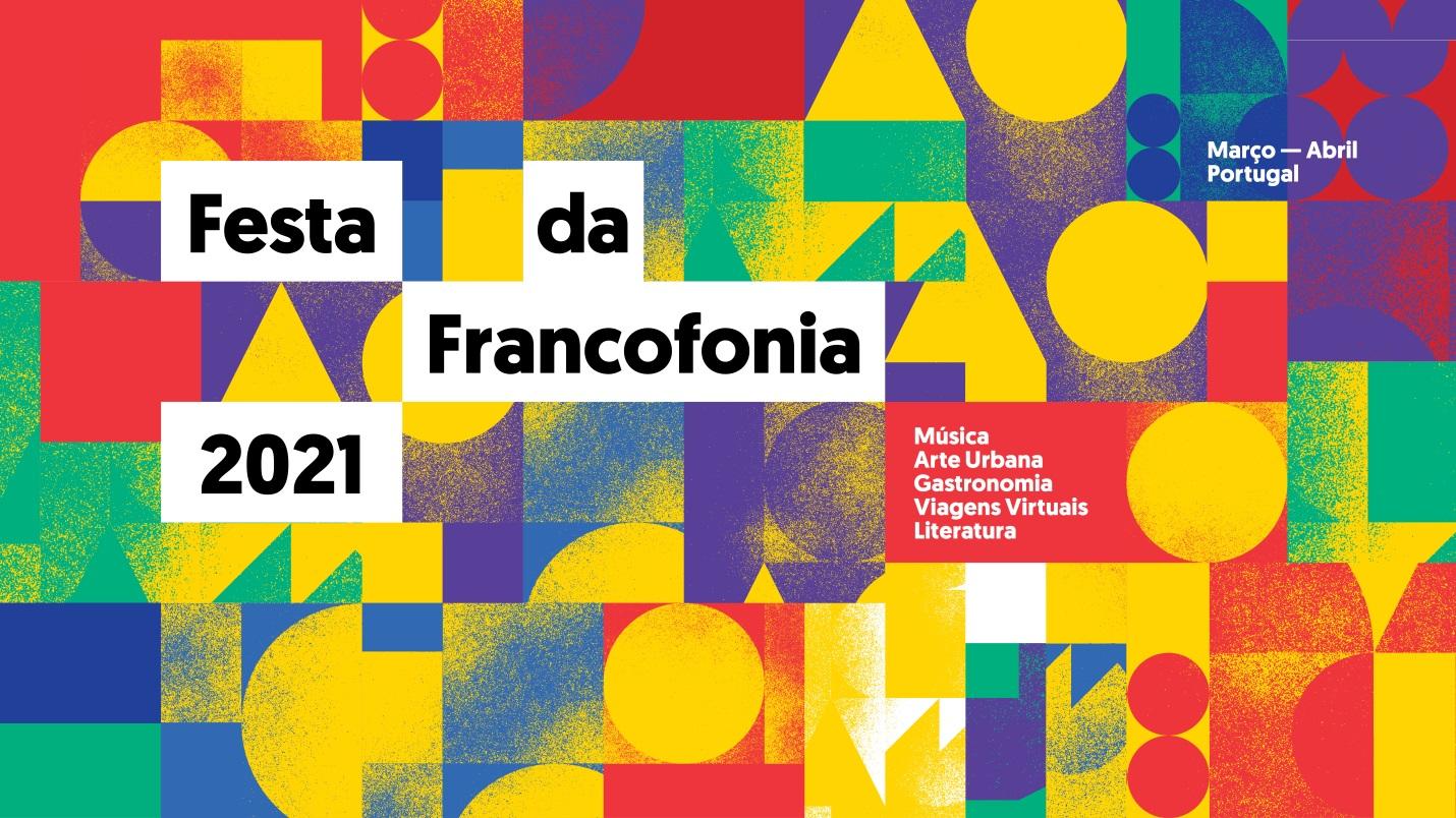 "Affiche ""Festa da Francofonia"""