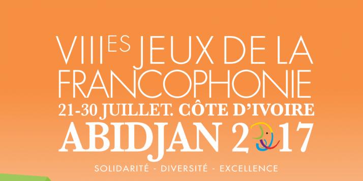 Affiche - VIIIèmes Jeux de la Francophonie à Abidjan