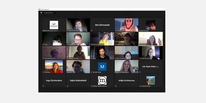 Atelier sur l'utilisation du numérique dans les cours de FLE pour les pays baltes