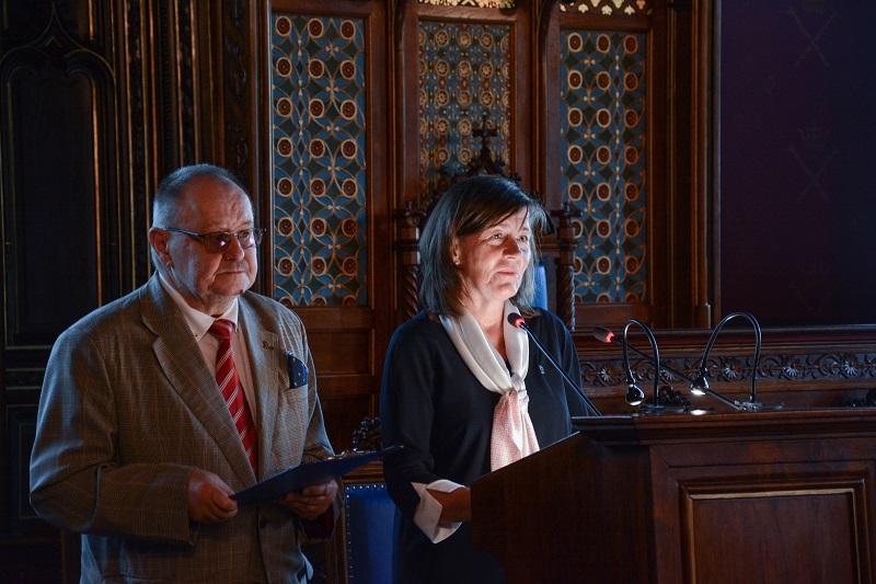 Le Train des Mémoires, Dorota Malec et Marcin Eckstein (c) Université Jagellonne