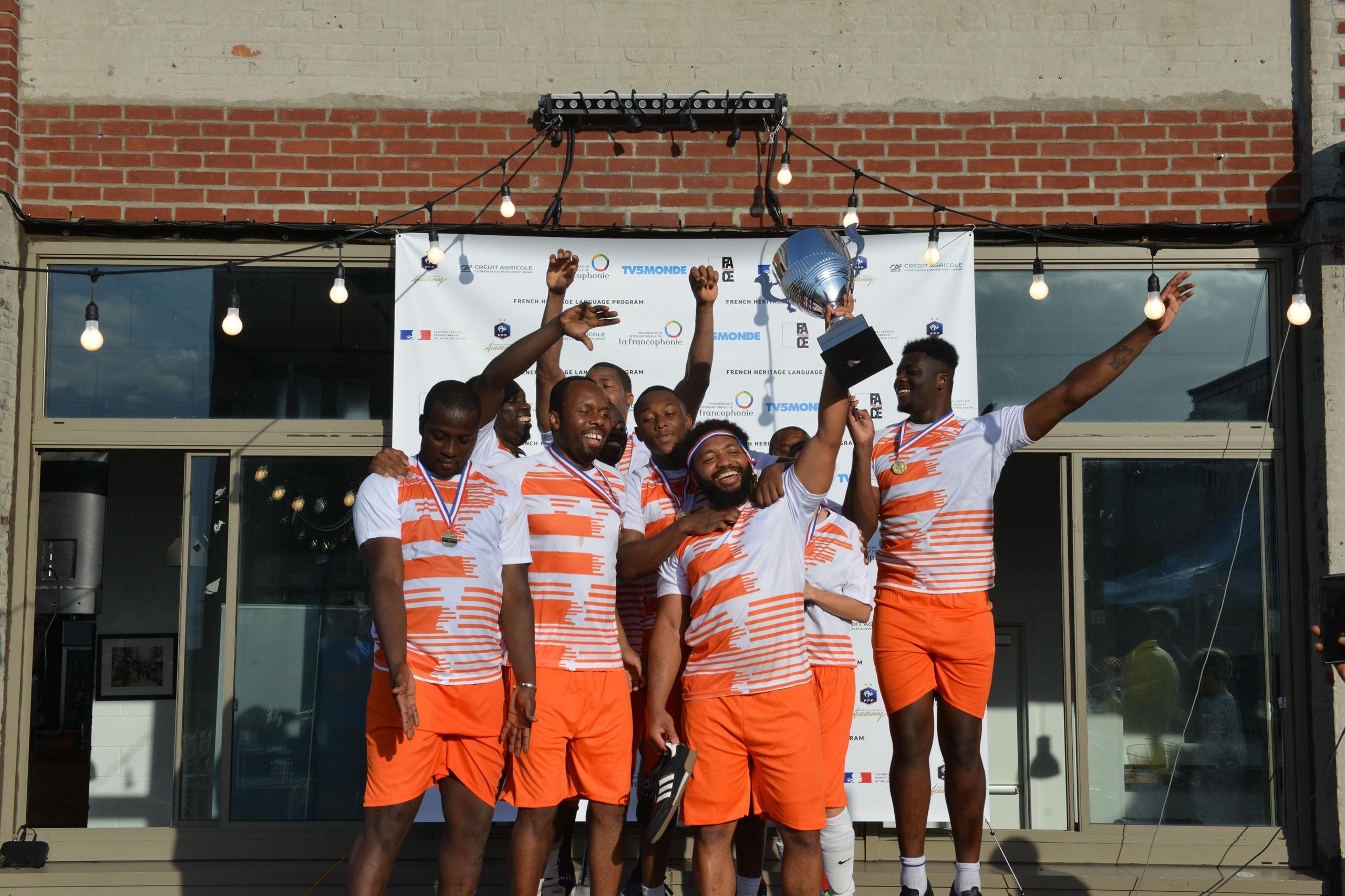 Le Sénégal, vainqueur de cette 1ère Coupe de la Francophonie