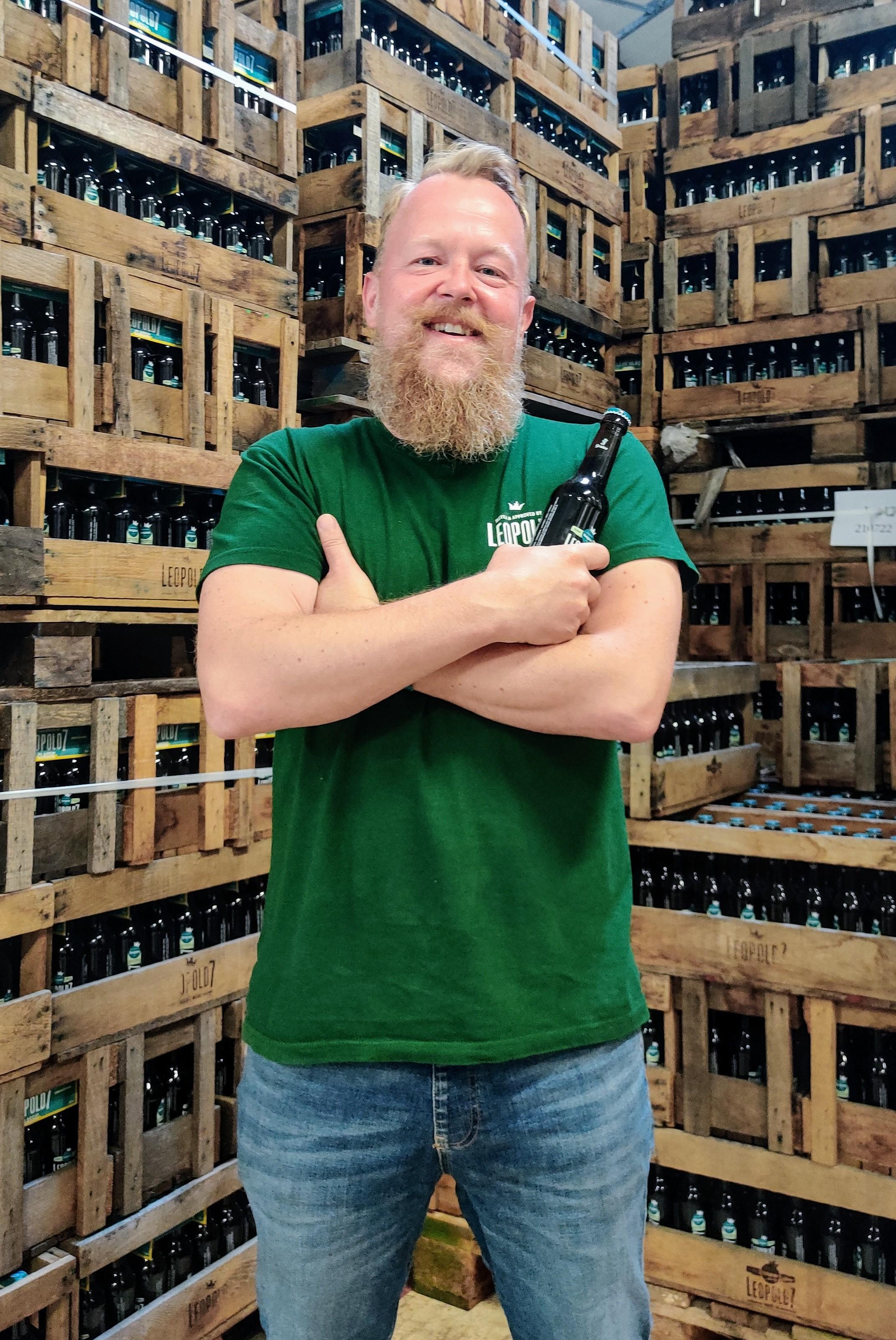 Olivier Van Hulsel, Directeur de la Brasserie Léopold 7