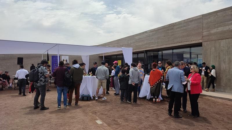 Inauguration de SACO 1.0 à Antofagasta (c) DGWB Santiago du Chili