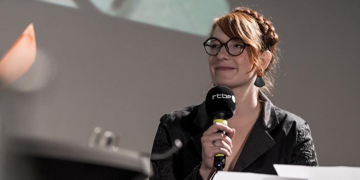 """Trophée """"Solidarité"""" 2019 - Marie-Pierre Lissoir"""