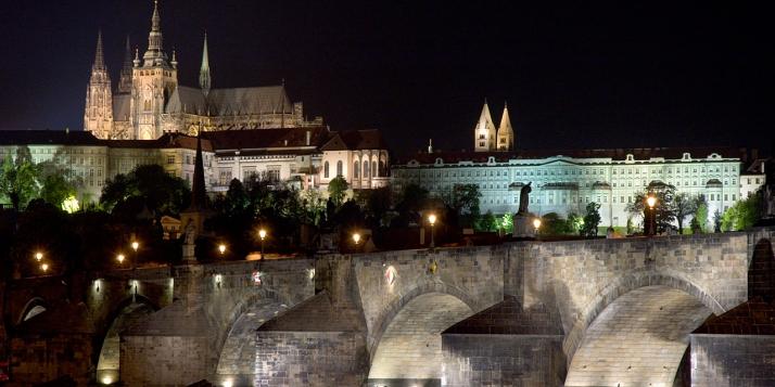 Vue de Prague en République Tchèque - cliquer pour agrandir