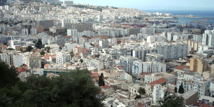 Vue de la ville d'Alger - cliquer pour agrandir