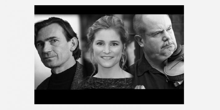 Benoît Peeters, Natacha Régnier et Jean-François Vrod - cliquer pour agrandir