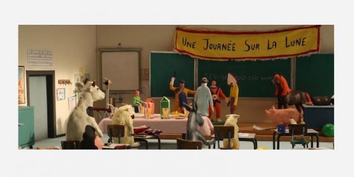 """""""Panique au village: la rentrée des classe"""" Patar et Aubier - cliquer pour agrandir"""