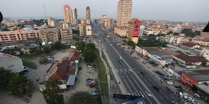 Boulevard du 30 juin, Kinshasa - MONUSCO/Myriam Asmani (CC BY 2.0) - cliquer pour agrandir
