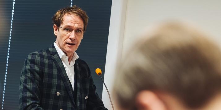 Thierry Delaval, Délégué général Wallonie-Bruxelles auprès de l'Union européenne - cliquer pour agrandir