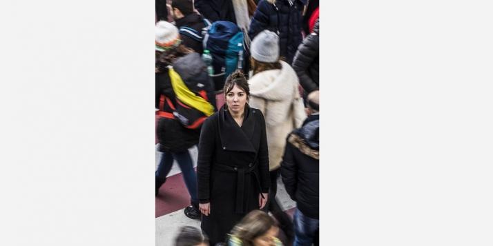 """""""Un fait divers"""" par Laure Chartier (c) Saskia Vanderstichele - cliquer pour agrandir"""