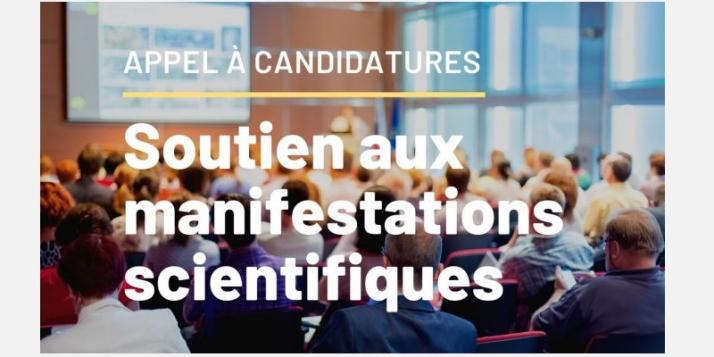 Soutien aux manifestations scientifiques: appel à candidatures - cliquer pour agrandir