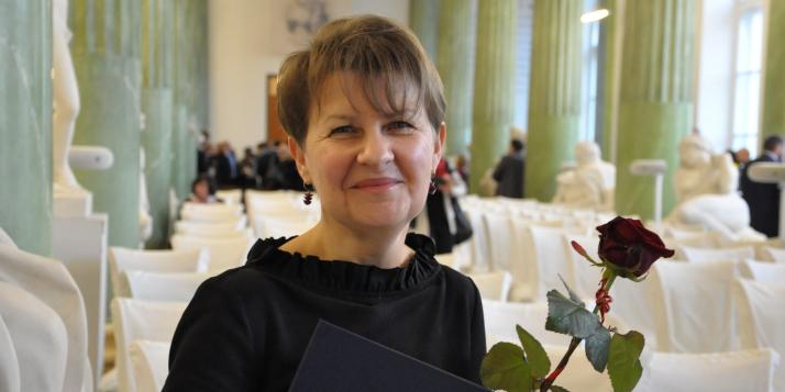 Pascale Peeters, lectrice de langue et littérature françaises de Wallonie-Bruxelles à Varsovie - cliquer pour agrandir
