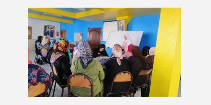 MinAjliki Tahfiz: Sensibilisation à l'entreprenariat à Essaouira - cliquer pour agrandir