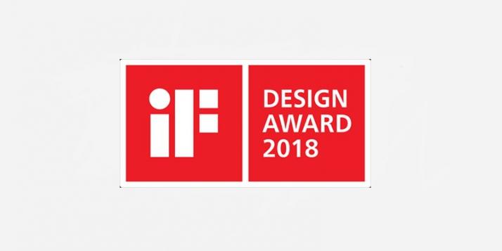"""""""iF Award 2018"""" - cliquer pour agrandir"""