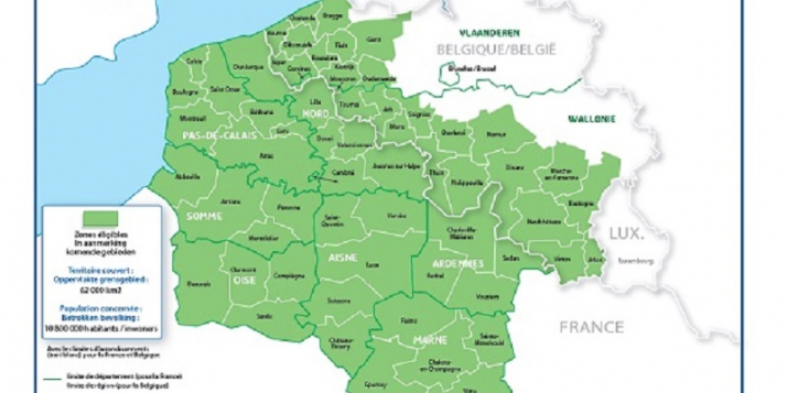 Programme Interreg France-Wallonie-Vlaanderen : mécanisme financier - cliquer pour agrandir