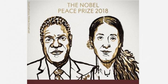 Denis Mukwege et Nadia Murad reçoivent le Prix Nobel de la Paix - cliquer pour agrandir
