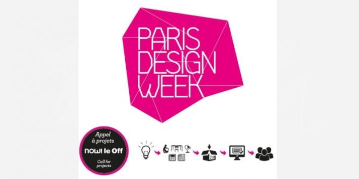 appel projets now le off pour la design week de paris. Black Bedroom Furniture Sets. Home Design Ideas