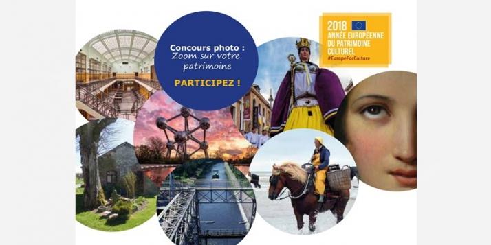 """Participez au concours de photographies """"Zoom sur le patrimoine"""" - cliquer pour agrandir"""