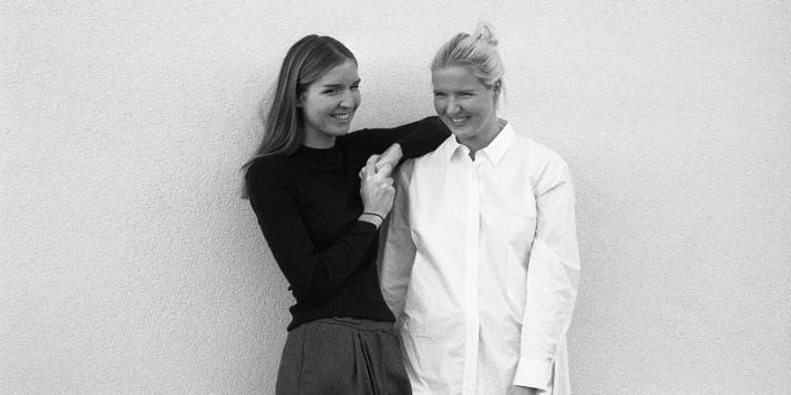 Aude et Astrid Regout, de la marque Rue Blanche - cliquer pour agrandir
