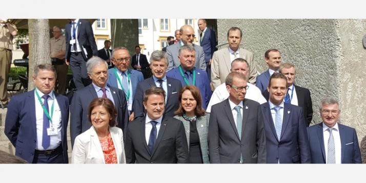Sommet intermédiaire de la Grande Région: une Europe sans frontière - cliquer pour agrandir