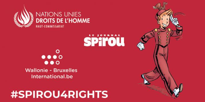 Spirou for Rights - cliquer pour agrandir